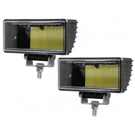 Светодиодные фары дополнительного света (к-т) 52 Вт прямоугольные