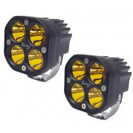 Светодиодные фары рабочего света (к-т) 80 Вт Spot